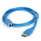 USB 3.0 Printer Cable Type A Male To B Male Super Speed Copper Data chargingCord