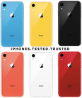 Apple iPhone XR (Sprint) 64GB/128GB/256GB - Coral Blue Yellow Black White Red