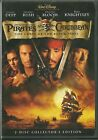 DISNEY DVD - PIRATES OF THE CARRIBBEAN: THE CURSE OF THE BLACK PEARL JOHNNY DEPP