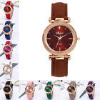 Fashion Women Ladies Casual Watches Leather Band Analog Quartz Wrist Watches image