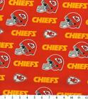 Kansas City Chiefs Fabric by the Yard or Half Yard, NFL Cotton Fabric, NFL Fabri $9.5 USD on eBay