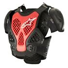 Alpinestars Bionic Chest Protector BLACK RED FREE SHIPPING