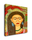 Frida Kahlo Portrait Art Oil Painting Print On Canvas Home Decor A Girl
