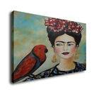 Frida Kahlo Portrait Art Oil Painting Print On Canvas Home Decor Self Portrait