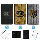 Vegas Golden Knights Passport Holder Leather Cover Cards ID Travel Wallet $4.99 USD on eBay