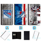 New York Rangers Passport Holder Leather Cover Cards ID Travel Wallet $4.99 USD on eBay