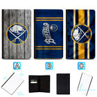 Buffalo Sabres Passport Holder Leather Cover Cards ID Travel Wallet $4.99 USD on eBay
