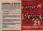 WERK GUERRILLAZINE The Outsiders COMME des GARCONS Booklet Flyer Rei Kawakubo