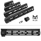 "Magorui 4"" 7"" 10"" 12""  15"" Free Float M-LOK Handguard with Steel Nut .223/5.56"