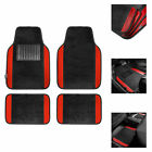 4pcs Universal Carpet Floor Mats for Car SUV Van 10 Color Options Full Set