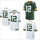 New Aaron Rodgers Green Bay Packers #12 Mens Jersey Green/White Size M-3XL on eBay