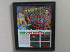 ZOMBIES ATE MY NEIGHBOR Frame Original Artwork Advertisement Game Room SNES 1993