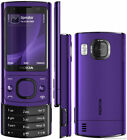 Nokia 6700 Slide 3G Video Calling 5MP Camera multicolours choice Unlocked Phone