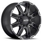 (4) 18x9 Black Ultra Phantom 225U 5x150 25 Nitto Exo Grappler AWT 275x65R18 Rim