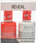 Reveal Gel Polish & Nail Lacquer Matching Duo Soak Off *Pick Any* $6.99 USD on eBay