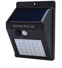 Waterproof 30 LED Solar Power PIR Motion Sensor Wall Light Outdoor Yard Lamp