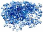 Glass For Fire Pits Turquoise 10 Lb Fireplace Patio Propane Gas Rocks Bead Stone