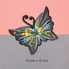 Hot Embroidered Butterfly Flower Sew Iron On Patch Badge Fabric Clothes Applique