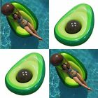 160x125cm Avocado Swimming Ring Inflatable Swim Giant Pool Floats for Adults Kid