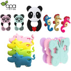 Silicone Baby Teething Ring Cute Animal 23 Styles Chew Necklace Toy Newborn Gift