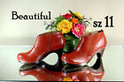 ANTHROPOLOGIE CLOGS SCHULER & SONS SHOES BOOTIES ANKLE BOOTS 11 MED