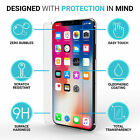 100% 4X  Genuine Tempered Glass Screen Protector  For iPhone XS MAX XR 8 7 2019