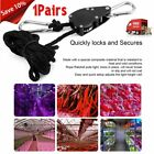 1 Pair of 1/4 Yoyo Hydroponic Rope Ratchet Grow Light Filter Hanger Grow Tent et