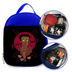 "Betty Boop with logo Custom Printed Lunch Bag Size 7""L X 9""H X 3""W For Kids $33.52 CAD on eBay"