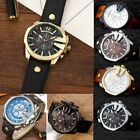 Curren 8176 Men Leather Band Strap Watch Mechanical Relogio Masculino Watch UB image