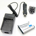 Li-ion Battery Pack + Charger for Casio Exilim EX-TR10 EX-TR15 NP-150 Brand New