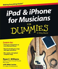 iPad and iPhone For Musicians For Dummies BOOK NEW