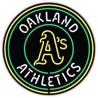 "Oakland Athletics MLB Baseball Car Bumper Sticker Decal ""SIZES"" ID:5 on Ebay"