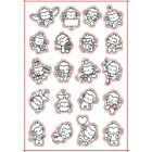 Many Cute Animals Silicone Seal Stamp Transparents Prints Scrapbooking Handcraft