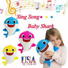 2019 Cute Baby Shark Plush Singing Plush Toys Music Doll English Song Toy Gift