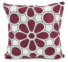 Cushions Large New Soft Chenille Daisy Scatter Cushions or Covers 5 colours