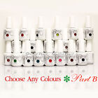 GELISH HARMONY - PART B Soak Off Gel Nail Polish Set UV Nail - Pick ANY Color, used for sale  USA