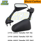 Racing Replacement Mirrors For Yamaha YZF-R6/R6S YZF-R1 1998 1999 2000 2001 2002
