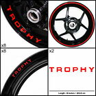 EXP Triumph Trophy Motorcycle Sticker Decal Graphic kit SPKFP1TR016 $104.8 CAD on eBay