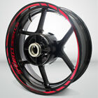 Motorcycle Rim Wheel Decal Accessory Sticker for Triumph Street Triple 675 $86.7 USD on eBay