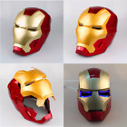 Iron Man Cosplay Helmet Touch Sensing Mask Gloves WITH LED Superhero Series Gift