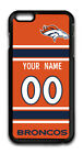 NFL Denver Broncos Personalized Name/Number iPhone iPod Case 151330 $12.99 USD on eBay