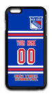 NHL New York rangers Personalized Name/Number iPhone iPod Case 162603 $12.99 USD on eBay