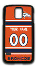 NFL Denver Broncos Personalized Name/Number Samsung Phone Case 151330 $12.99 USD on eBay