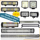 Led Work Light Bar Flood Spot Lights Driving Lamp Offroad Car Truck Suv 12v 24v