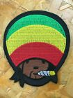 One Love Iron on Patch Music Reggae Ska Rasta V01 Applique Sew Biker