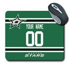 NHL Dallas Stars Personalized Name/Number Mouse Pad 162905 $14.99 USD on eBay