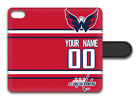 NHL Washington Capitals Personalized Name/Number iPhone iPod Wallet Case 160606 $17.99 USD on eBay