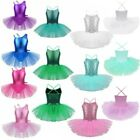 Kyпить Kids Girls Ballet Dance Leotard Tutu Dress Gymnastics Mermaid Dancewear Costume на еВаy.соm