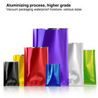 Heat Seal Open Top Bags Aluminum Foil Mylar Vacuum Pouches Food Storage Package