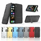 Shockproof Hybrid Armor Case Kickstand Protective Hard Cover For i Phone XS Max